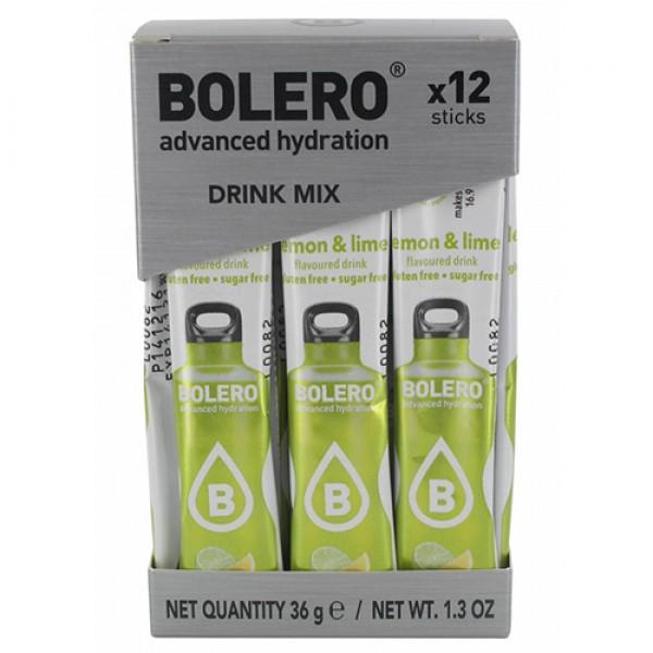 منكهات الماء بوليرو - نكهة الليمون الاصفر والاخضر