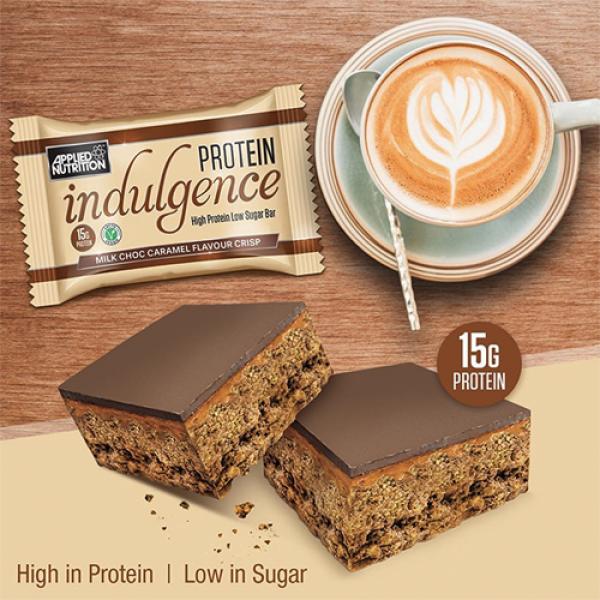 ابلايد نيوترشن بروتين بار بنكهة شوكولاتة الحليب والكراميل