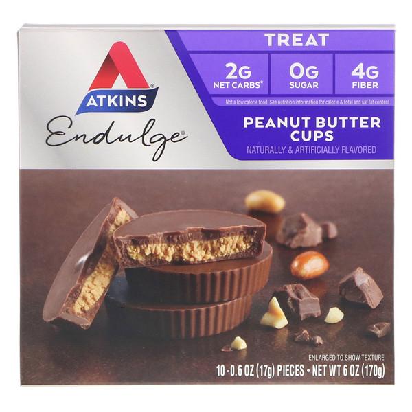 اتكنز أكواب الفول السوداني بالشوكولاتة