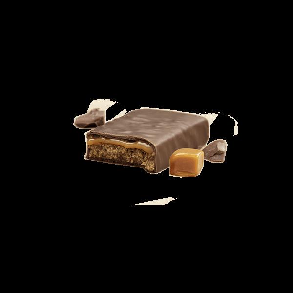 اتكنز بروتين بار شوكولاته بالكراميل