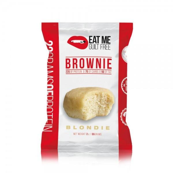 براوني بروتين من ايت مي نكهة الفانيلا