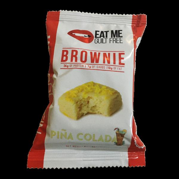 براوني بروتين من ايت مي نكهة بينا كولادا