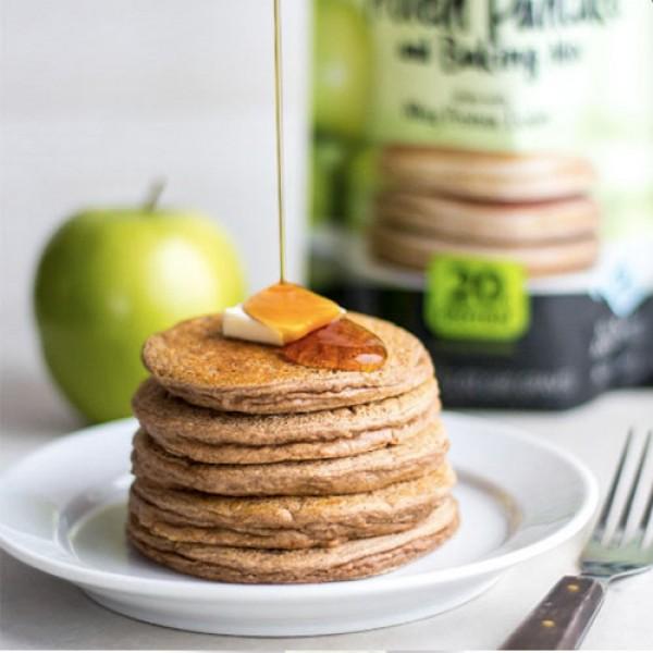 بانكيك البروتين فلاب جاكد بنكهة التفاح والقرفة