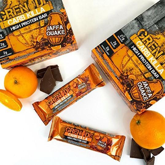 بروتين بار الشوكولاته والبرتقال من قرنيد