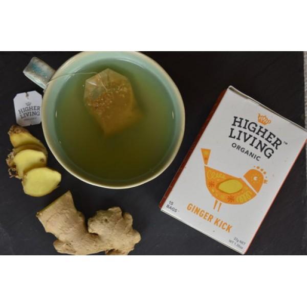 شاي زنجبيل عضوي من هاير لفينق