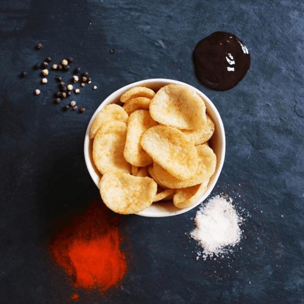 شيبس انفيوجن نكهة الملح والخل