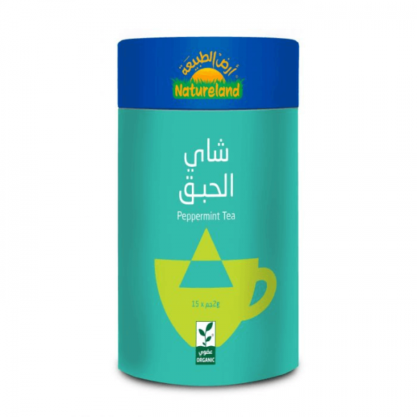شاي الحبق أرض الطبيعة