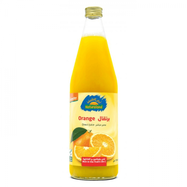 عصير البرتقال أرض الطبيعة