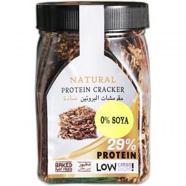 مقرمشات البروتين - سادة