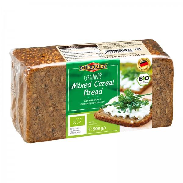 خبز عضوي بالحبوب من كويك بيرون