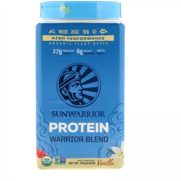 بروتين نباتي عضوي بالفانيلا من سن واريور