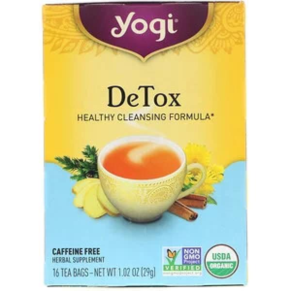 شاي الديتوكس من يوقا