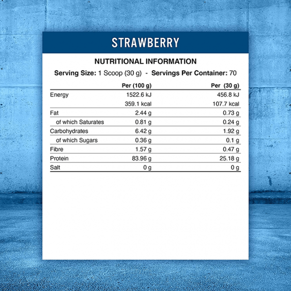 بروتين نباتي فراولة أبلايد نيوترشن