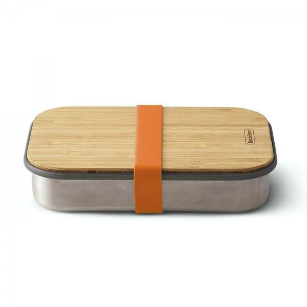 حافظة طعام مع لوح خشبي للتقطيع بلاك بلوم
