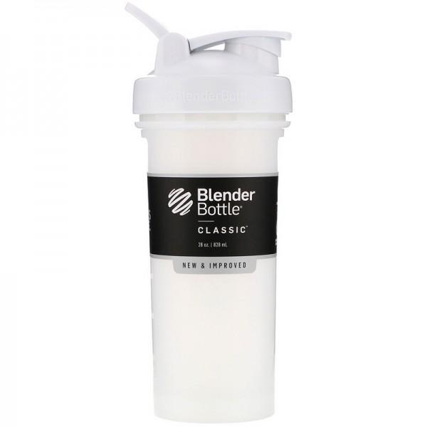 شيكر blenderbottle - أبيض