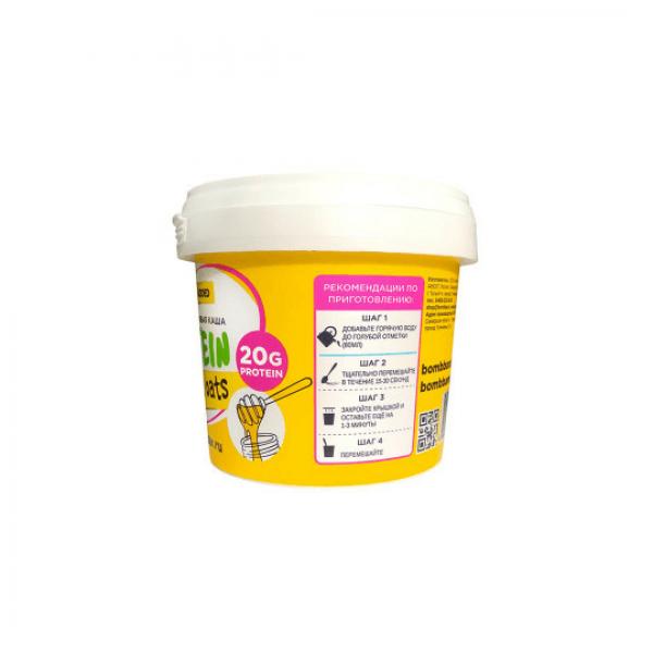شوفان عالي البروتين نكهة العسل واللوز بومبار