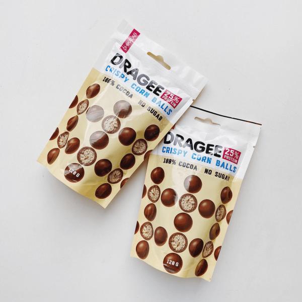 كرات الشوكلاته المقرمشة عالي البروتين شيك لاب