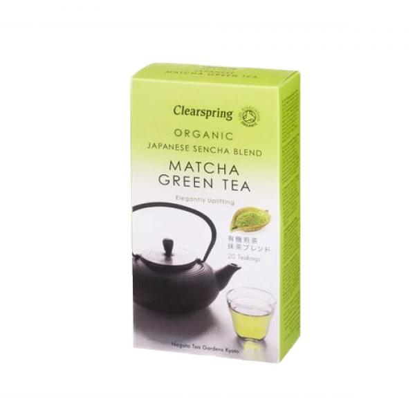 شاي أخضر عضوي - ماتشا