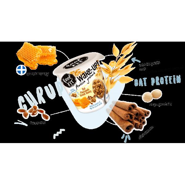 جرانولا بروتين بالعسل فيل فت