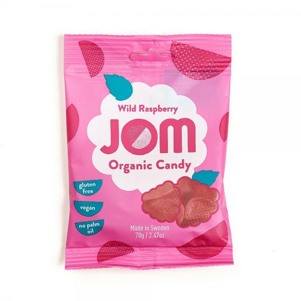حلوى بنكهة التوت البري جوم