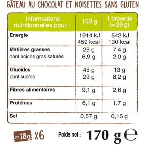 براونيز الشوكولاتة ناتين
