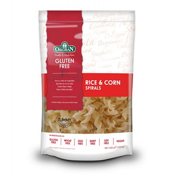 اورجران مكرونة الأرز والذرة حلزونية