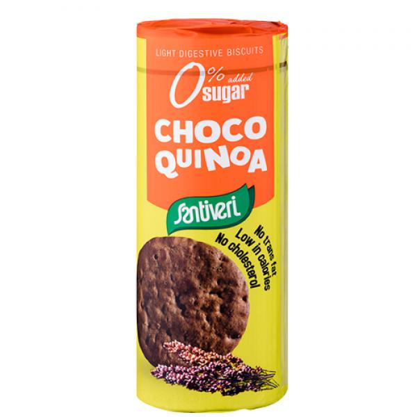 بسكويت دايجستف بالشوكولاتة والكينوا سانتيفيري
