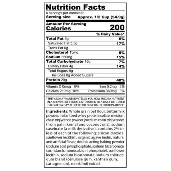 خليط البانكيك سنستر لابز عالي البروتين بنكهة الموز