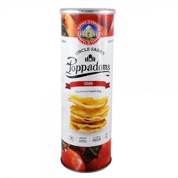 شيبس العدس نكهة الطماطم من انكل سابس